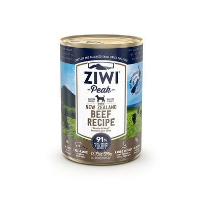 ZiwiPeak ZIWI Peak Dog Beef Recipe Can 390G