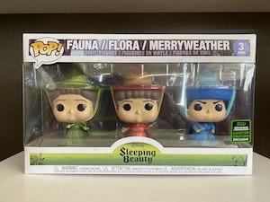 Sleeping Beauty's: Fauna, Flora & Merryweather 3 pack