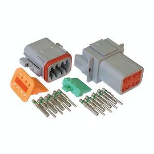 Deutsch DT 8-Way 8 Pin Electrical Connector Waterproof Plug Kit