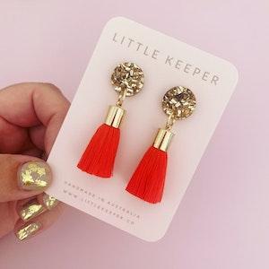 Midi Tassel Earrings