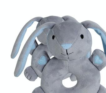 BibiLand BibiBaby Cuddle Rattle - Beau Bunny