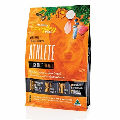 HEALTHY EVERYDAY PETS Athlete Dry Dog Food