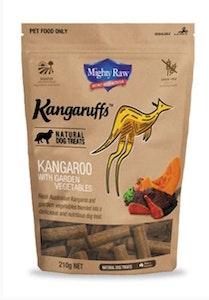 Kangaruffs Dog Kangaroo & Vegetables 210g