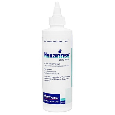 Virbac Hexarinse Dogs Cats & Horses Oral Dental Care - 2 Sizes