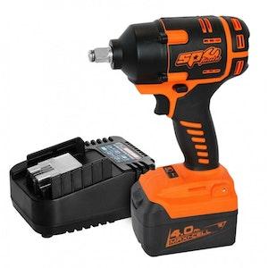 "Impact Wrench Kit Brushless Cordless 1/2""Dr 18v Li-Ion SP81133"