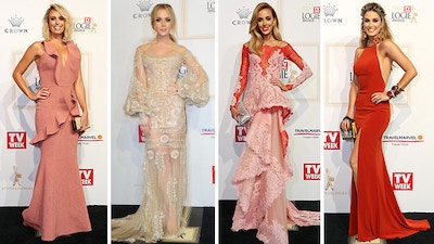 59th TV WEEK LOGIES RED CARPET RECAP