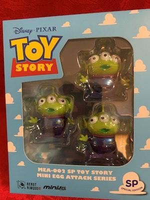 Toy Story Aliens Mini Egg Attack Metallic colour Disney Pixar - New in Box