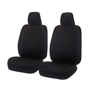 Challenger Car Seat Covers For Holden Colorado Rg Series Single/Dual/Space Cab 2012-2020 | Black