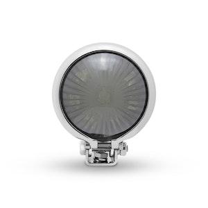 Mini Bates Style LED Stop Tail Light - Chrome