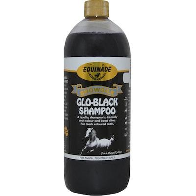 Equinade Showsilk Glo Black Shampoo Animal Coat Colour Treatment - 6 Sizes