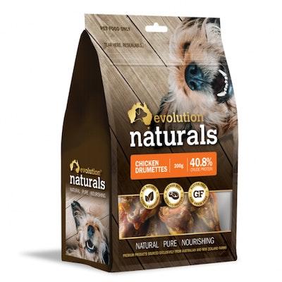 EVOLUTION NATURALS Chicken Drumettes Dog Treats 200G