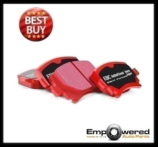EBD RED CERAMIC FRONT BRAKE PADS for Ford Falcon FG FPV F6 UTE 2008 on DP31110