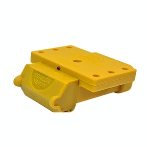 50amp Anderson Plug Yellow Mounting Kit Connector Cover Assembly with LED Power Indicator