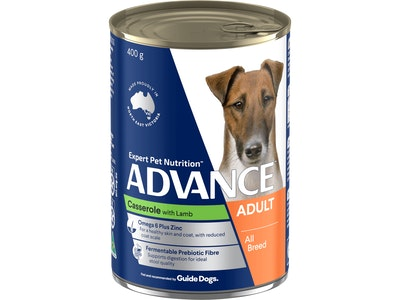 Advance Adult Dog All Breed Casserole with Lamb - 12 x 400g cans