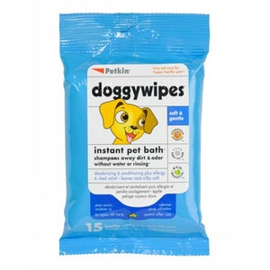 Petkin Doggy Wipes 100 Pack