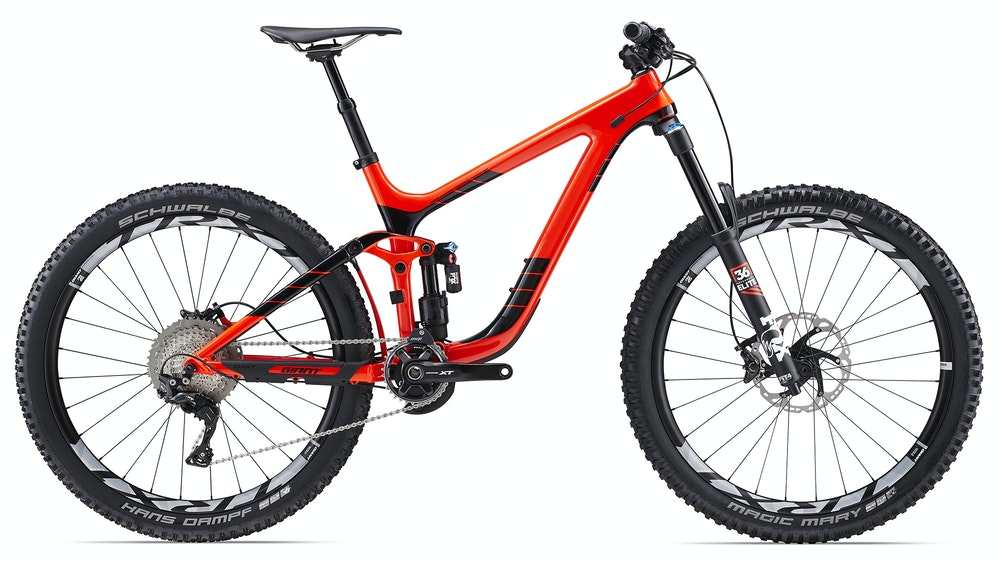 Giant Reign ADV 1 Red BikeExchange 2017