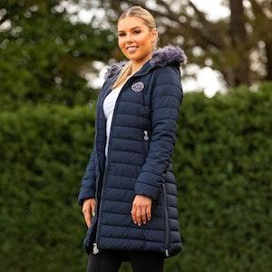 Bare Equestrian Leah Long Jacket
