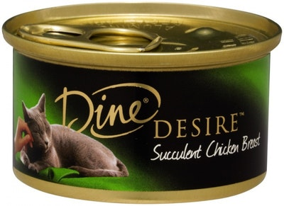 Dine Desire Wet Cat Food Succulent Chicken Breast 85g x 24