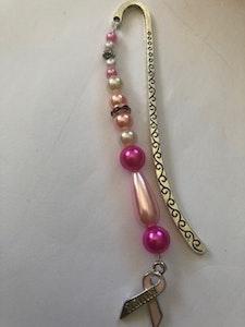 Handmade By Bronzerose Breast Cancer Bookmark  Ver2 2020