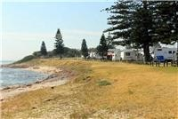 Beachfront camping at Shellharbour Beachside Tourist Park