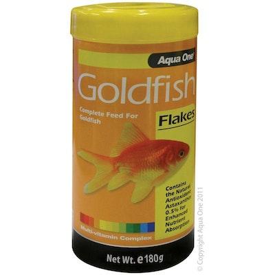 Aqua One Goldfish Flakes Fish Food