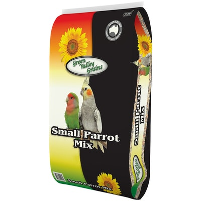 Green Valley Small Parrot Nutritious Seed Mix Food - 2 Sizes