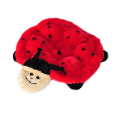 Zippy Paws Squeakie Crawler - Betsey The Ladybug