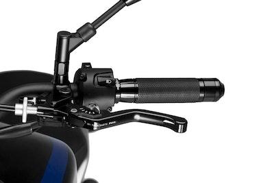 Puig Short 3.0 Clutch Lever (Black with Silver Adjuster)