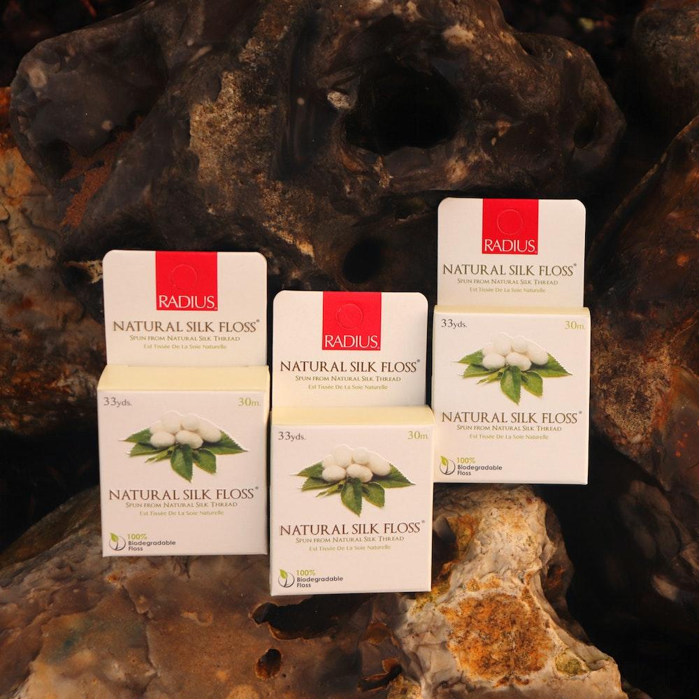 Natural Spa Supplies Natural Silk Dental Floss, By Radius