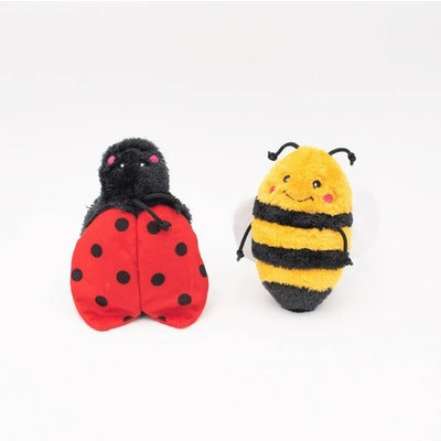 Zippy Paws Bee & Lady Bug 2 Pack