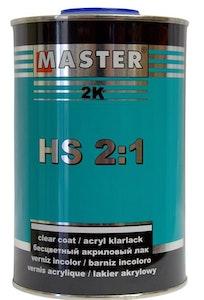 Master Premium HS Clear Coat 1Lt with Hardener