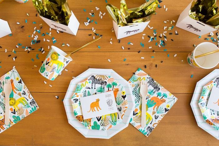 LENZO Kids Jungle Party Ideas 4