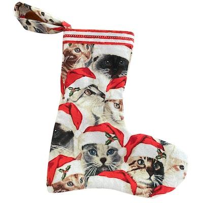 Kitty Kitchen Handmade Cat Christmas Stockings