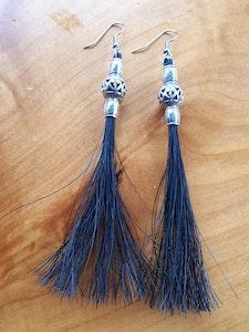 Rainbow Reins Beaded Tassel Earrings