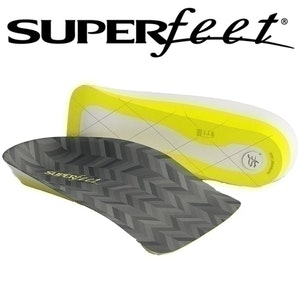 Boutique Medical Men's Superfeet Me 3/4 Insoles Inserts Orthotics Arch Support Cushion New
