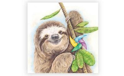 Print: 'Party' Sloth