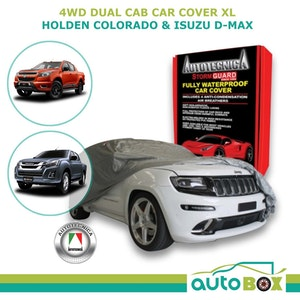 Car Cover Dual Cab 4WD Ute XL Stormguard Waterproof Colorado D-Max No Canopy
