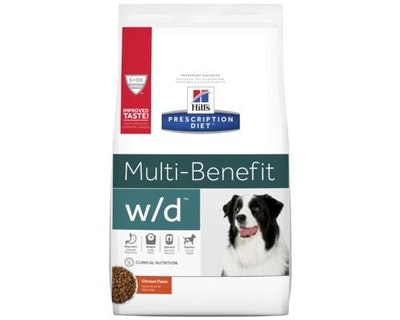 Hill's VET Hill's Prescription Diet W/D Multi Benefit Dry Dog Food