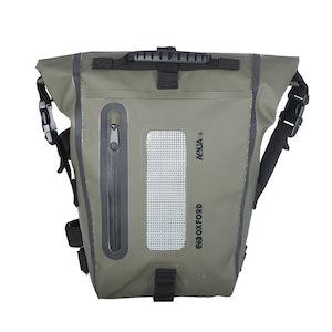 Oxford Aqua T8 Tail Pack - Black/ Khaki