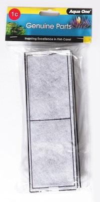 Aqua One Carbon Cartridge 1C 2 Pack