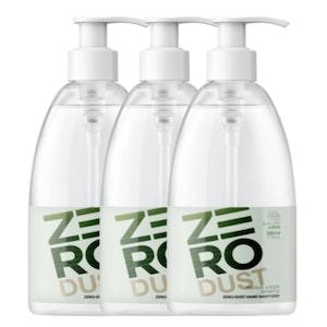 K-Mom Zero Dust Gel Hand Sanitiser 500mL (70% Ethanol) - Triple Pack