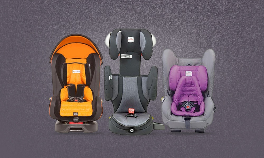 3 car seats in the back seat - some useful tips!