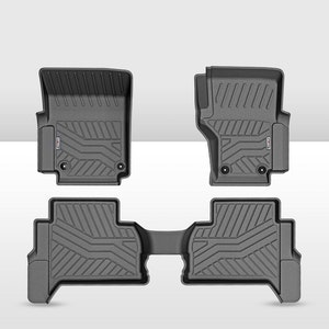 KIWI MASTER 3D TPE Floor Mats Liner fit VW Amarok 2010 - 2020