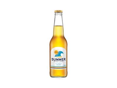 XXXX Summer Bright Lager Bottle 330mL