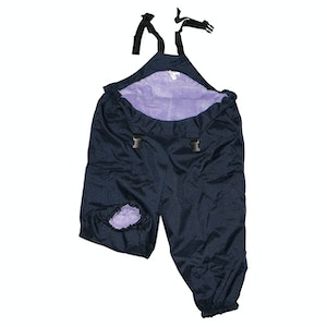 Silly Billyz XL Lilac/Navy Waterproof Overall
