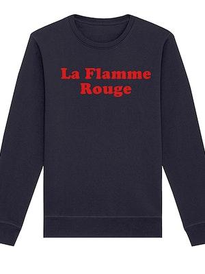 The General Classification La Flamme Rouge Crew Jumper Navy