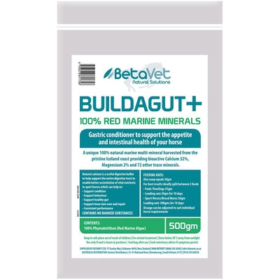 BETAVET Natural Solutions Horse Buildagut Plus Gastric Conditioner - 4 Sizes
