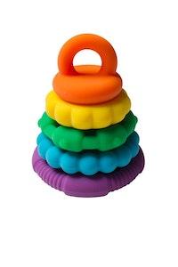 Rainbow Stacker Teether & Toy