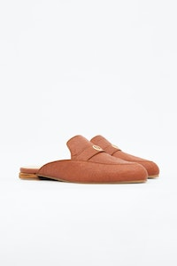 1 People Cairo Mules in Canela Brown