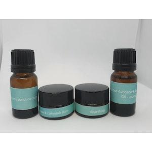 Luxeluna Face & Body Body Bundle - MINI SAMPLE SIZES